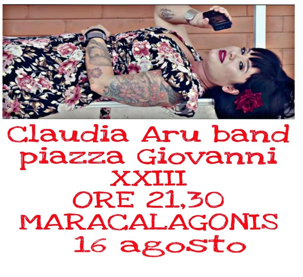 Rassegna  Mara&Mare  oggi 16 agosto: 'Claudia Aru in Sardinia Caput Mundi'