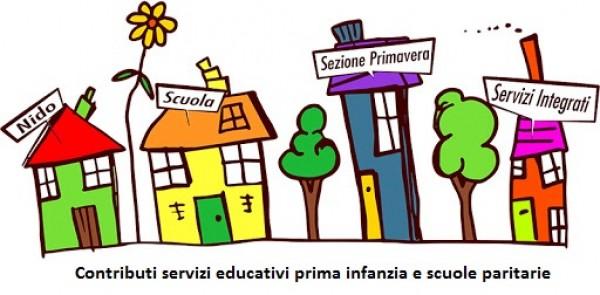 Contributi per la gestione dei servizi educativi prima infanzia e scuole dell'infanzia paritarie