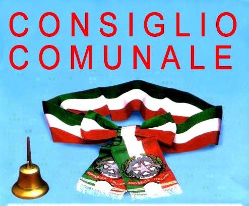 AVVISO DI CONVOCAZIONE DEL CONSIGLIO COMUNALE SEDUTA DEL 21/12/2018