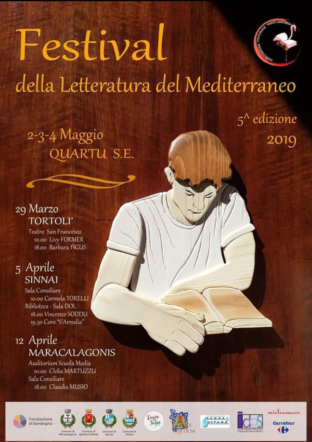 FESTIVAL DELLA LETTERATURA DEL MEDITERRANEO - 5^ EDIZIONE 2019