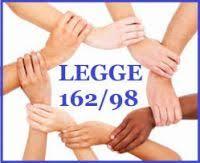 L.162/98-COMUNICAZIONI FINANZIAMENTO PERIODO LUGLIO-DICEMBRE 2020