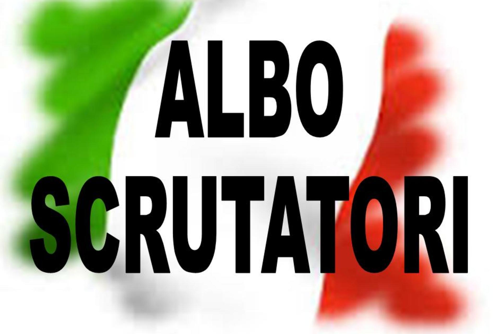 AGGIORNAMENTO ALBO SCRUTATORI-ANNO 2022