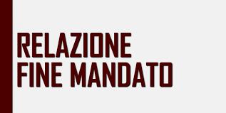 RELAZIONE FINE MANDATO DEL SINDACO 2018/2020