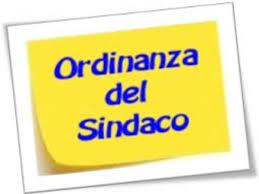 ORDINANZA SINDACALE N. 7 DELL'1/4/2020 - SANIFICAZIONE AREE PUBBLICHE